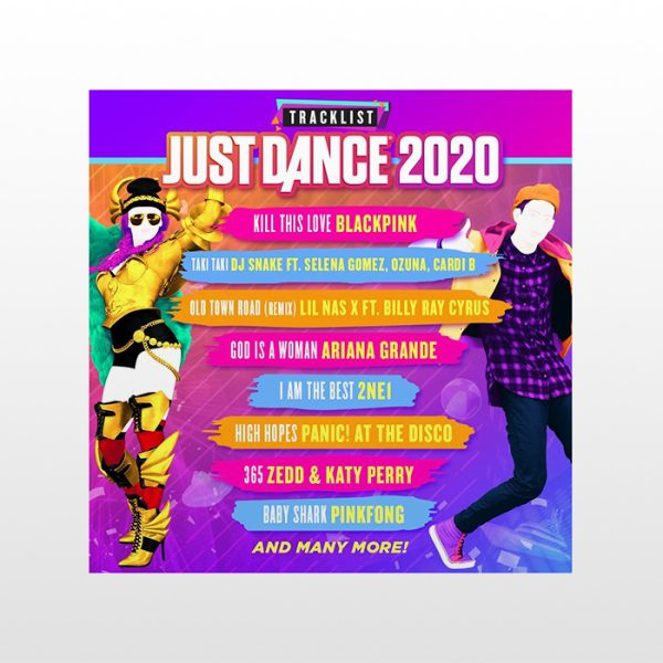 تصویر بازی پلی استیشن ۴ ریجن ۲-Just Dance 2020