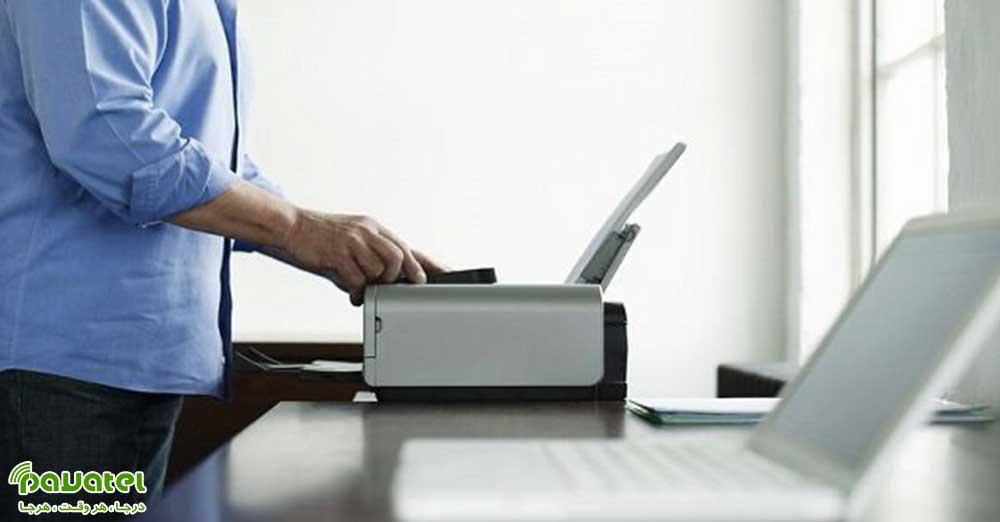 اتصال بیسیم پرینتر به لپ تاپ