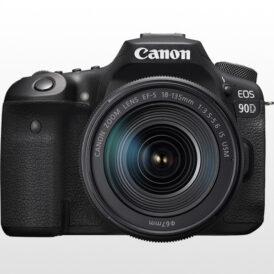 دوربین عکاسی کانن Canon EOS 90D DSLR kit 18-135mm