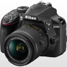 دوربین عکاسی دیجیتال نیکون Nikon D3400 Kit 18-55mm f/3.5-5.6 G VR