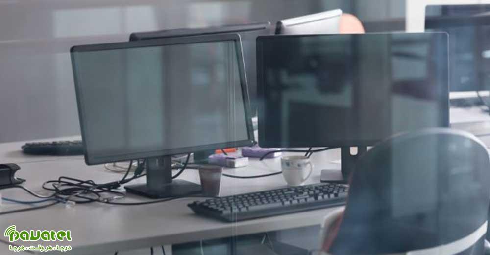 اتصال دو مانیتور به کامپیوتر