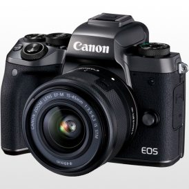 دوربین عکاسی دیجیتال بدون آینه Canon EOS M5 Kit 15-45mm f/3.5-6.3 IS STM