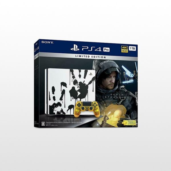 تصویر پلی استیشن ۴ پرو تک دسته ۱ ترابایت PS4 Pro 1TB-R2-CUH 7216B Death Stranding Limited Edition