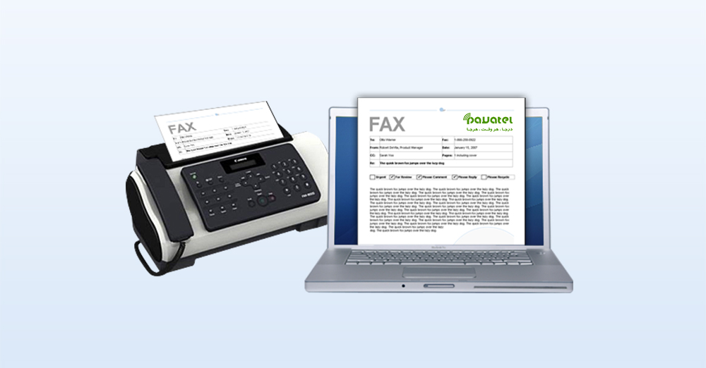 Send and receive faxes with computer