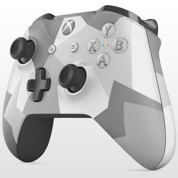 تصویر دسته ایکس باکس وان Xbox One Wireless Controller Winter Forces Special Edition