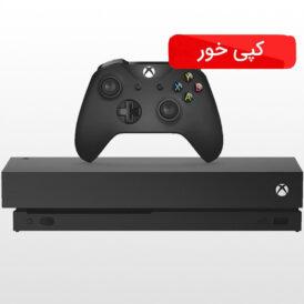 ایکس باکس وان ایکس ۱ ترابایت مشکی کپی خور Xbox one Xخرید ایکس باکس وان ایکس ۱ ترابایت مشکی کپی خور Xbox one X