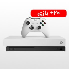 ایکس باکس وان ایکس ۱ ترابایت سفید کپی خور Xbox one X
