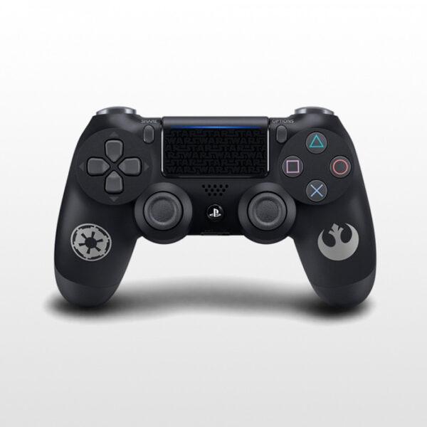 تصویر پلی استیشن ۴ اسلیم تک دسته ۱ ترابایت PS4 Slim 1TB-R2-CUH 2216B Star Wars Battlefront II Limited Editon