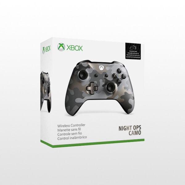تصویر دسته ایکس باکس وان Xbox One Wireless Controller Midnight Ops Camo