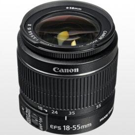 لنز دوربین کانن Canon EF-S 18-55mm f/3.5-5.6 IS II No Box