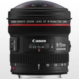 لنز دوربین کانن Canon EF 8-15mm f/4L Fisheye USM