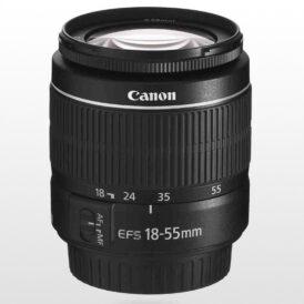 لنز دوربین کانن Canon EF-S 18-55mm f/3.5-5.6 III No Box