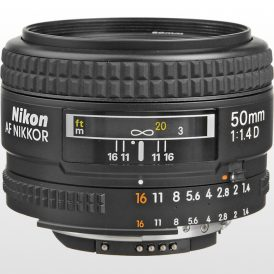 لنز دوربین نیکون Nikon AF NIKKOR 50mm f/1.4D