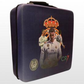 کیف ضد ضربه پلی استیشن ۴ پرو طرح CR7 Real Madrid