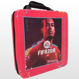 کیف ضد ضربه پلی استیشن ۴ پرو طرح FIFA 20