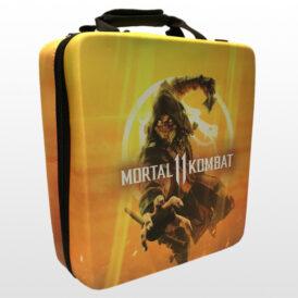 کیف ضد ضربه پلی استیشن ۴ پرو طرح Mortal Kombat 11