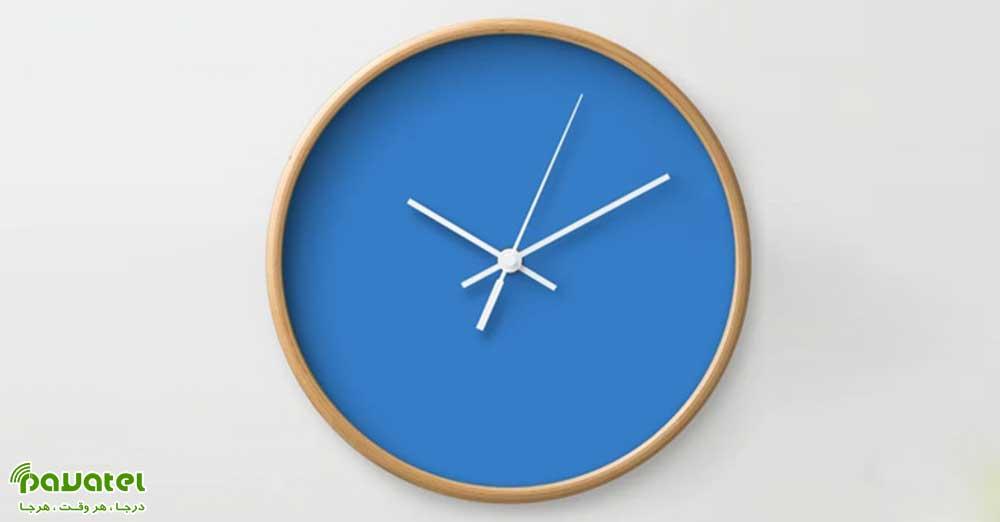 فعال کردن ساعت چند منطقه زمانی