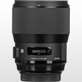 لنز دوربین سیگما Sigma 135mm f/1.8 DG HSM Art Lens for Nikon F