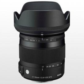 لنز دوربین سیگما Sigma 17-70mm F2.8-4 DC Macro OS HSM | C for Nikon