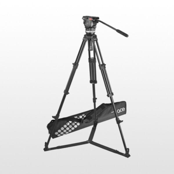 سه پایه دوربین عکاسی ساچلر Sachtler Ace Tripod Head and lege