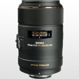 لنز دوربین سیگما Sigma 105mm f/2.8 EX DG OS HSM Macro for Canon