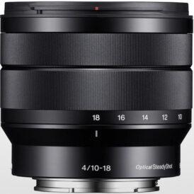 لنز دوربین سونی Sony E 10-18mm f/4 OSS