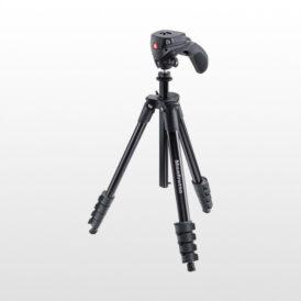 سه پایه دوربین مانفروتو Manfrotto Compact Action Aluminum Tripod