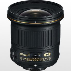 لنز دوربین نیکون Nikon AF-S NIKKOR 20mm f/1.8G ED