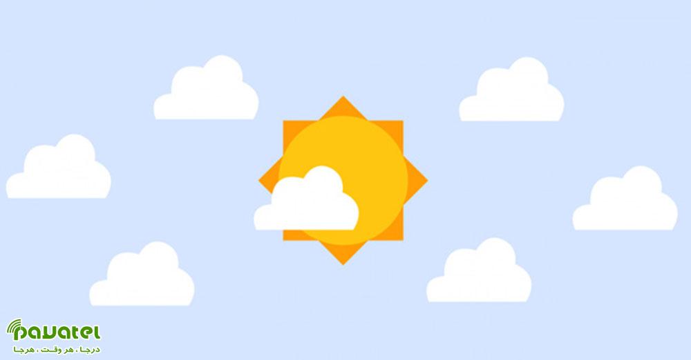 ویجت های هواشناسی برای ویندوز