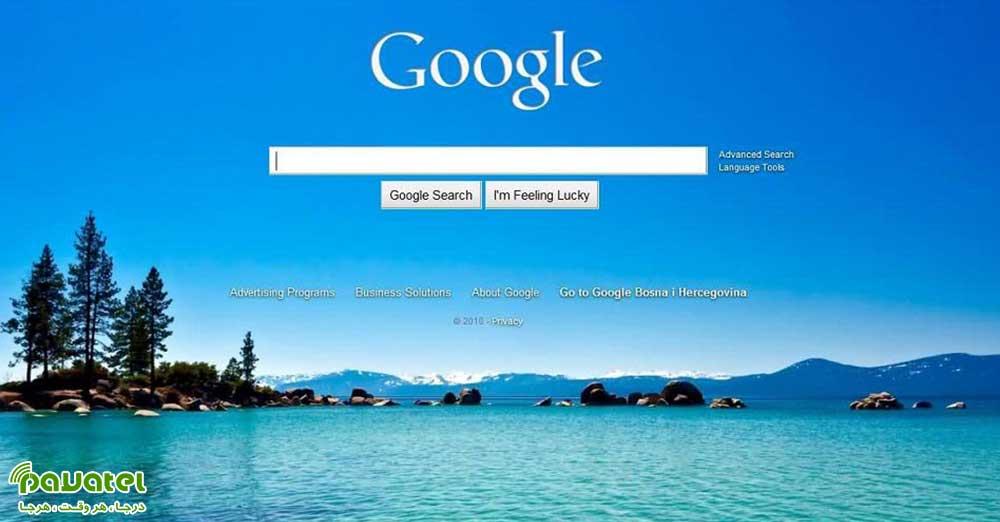 تغییر تصویر پس زمینه گوگل کروم