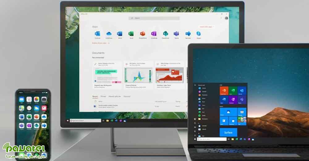طراحی جدید آیکون های ویندوز 10