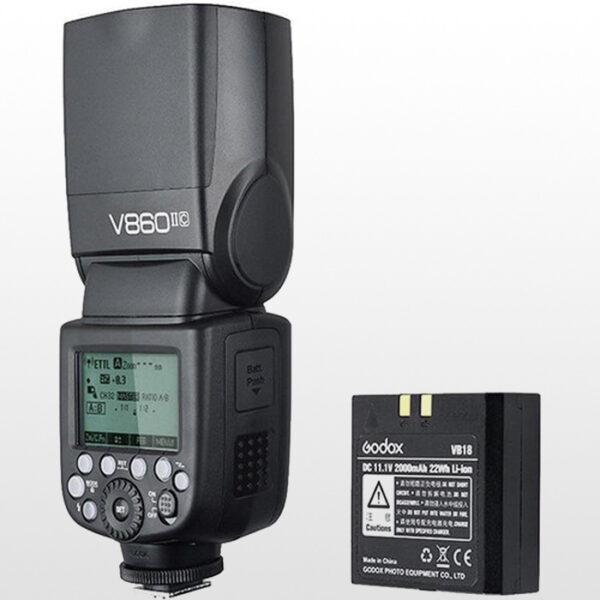 فلاش دوربین عکاسی گودکس Godox V860II-C TTL Li-Ion Flash