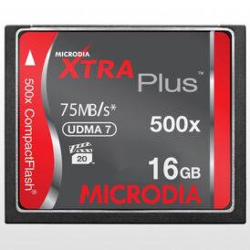 کارت حافظه Microdia XTRA Plus CF 16GB