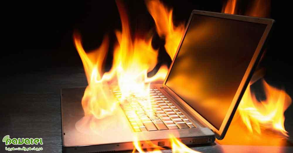 خنک نگه داشتن لپ تاپ