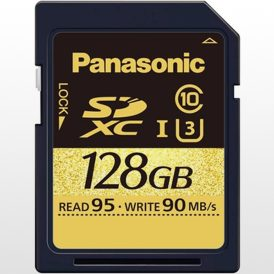 کارت حافظه Panasonic 128GB U3 SDXC