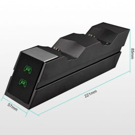 پایه شارژر دوگانه دوال شاک 4 مدل X7E1