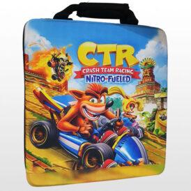 کیف ضد ضربه پلی استیشن ۴ طرح Crash Team Racing