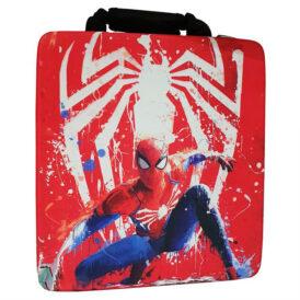 کیف ضد ضربه پلی استیشن ۴ طرح بازی Spider Man PS4