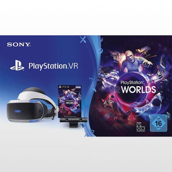 عینک واقعیت مجازی سونی و کد بازی PSVR Worlds - سری جدید