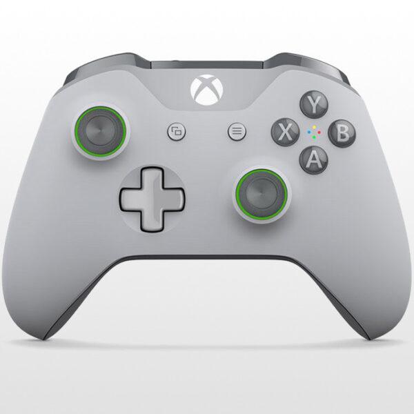 دسته ایکس باکس وان Xbox One Wireless Controller - Grey/Green