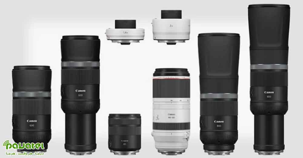 4لنز جدید مخصوص دوربینهای بدون آینه کانن