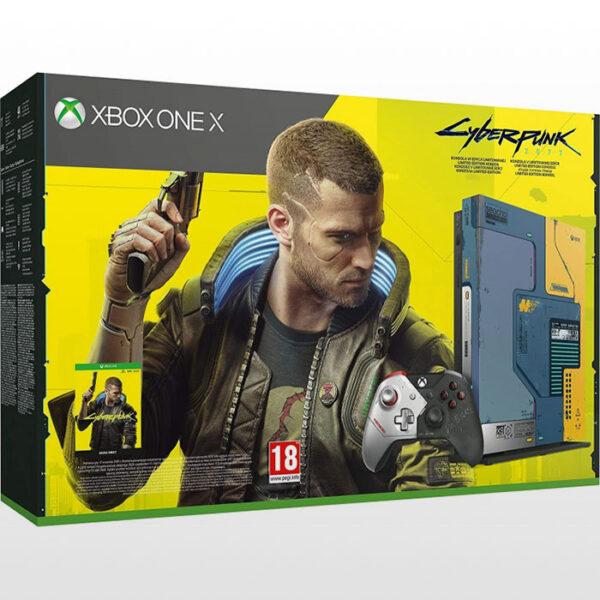 ایکس باکس وان ایکس ۱ ترابایت Xbox One X Cyberpunk 2077 Limited Edition - 1TB