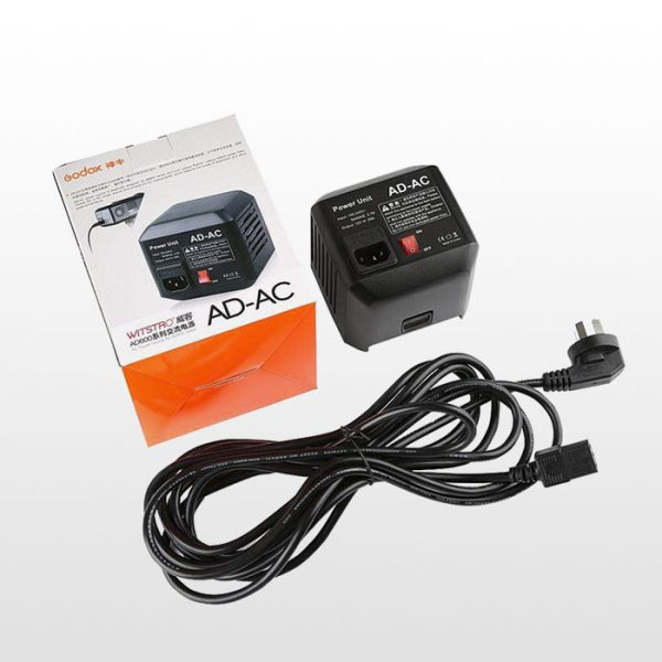 آداپتور برق مسقیم Godox AD-AC Power Source Adapter Cable for AD600