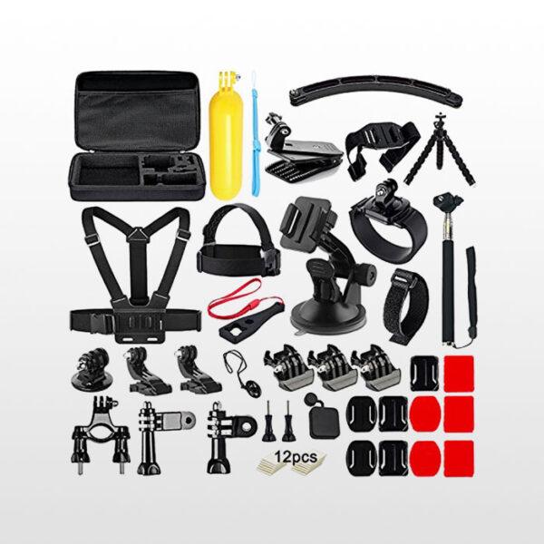 کیت کامل لوازم جانبی گوپرو Gopro Accessories Combo Kit 55 in 1