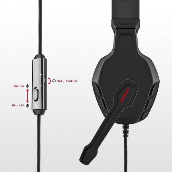 هدست گیمینگ Nubwo U3 Gaming Headset - Red