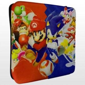 کیف ضد ضربه پلی استیشن ۴ پرو طرح Mario vs Sonic