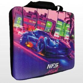 کیف ضد ضربه پلی استیشن ۴ پرو طرح NFS Heat