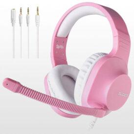 هدست گیمینگ SADES Spirits Gaming Headset - Pink