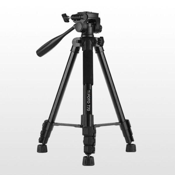 پایه نگهدارنده موبایل تی فوتو Tefoto T70 Tripod black