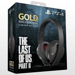خرید هدست گلد پلی استیشن سری جدید نسخه The Last of Us Part II Limited Edition